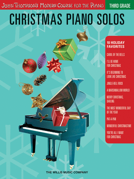 Christmas Piano Solos - Third Grade (Book Only)