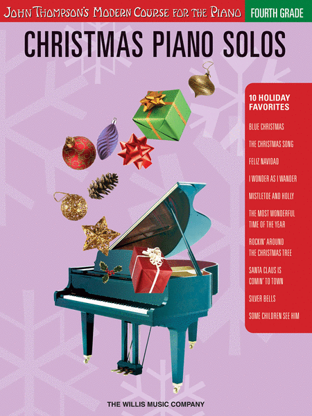 Christmas Piano Solos - Fourth Grade (Book Only)