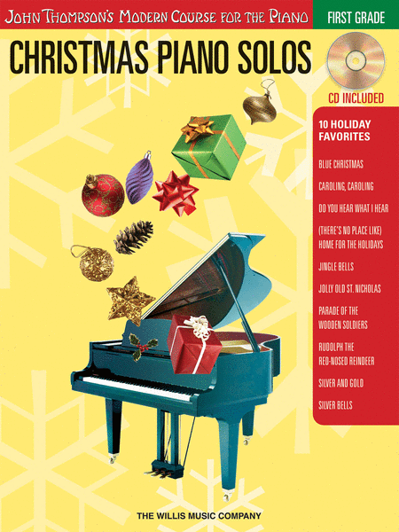 Christmas Piano Solos - First Grade (Book/CD Pack)
