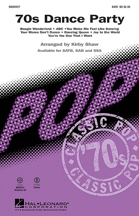 '70s Dance Party - ShowTrax CD