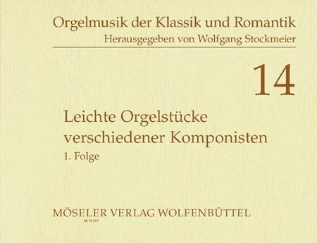 Leichte Orgelstucke verschiedener Komponisten