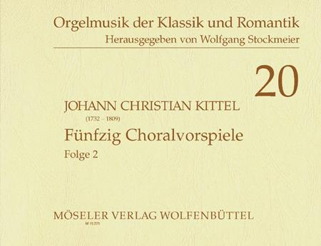 50 Choralvorspiele Band 2
