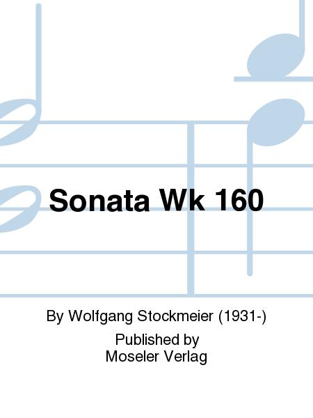 Sonata Wk 160