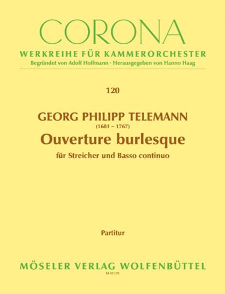 Ouverture burlesque TWV 55:B8