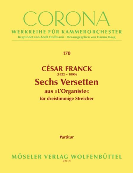 Sechs Versetten aus L'Organiste