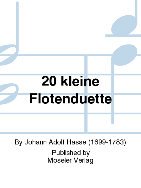 20 kleine Flotenduette