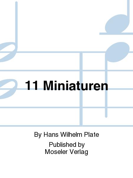 11 Miniaturen