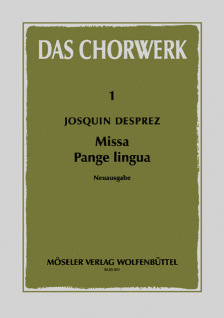 missa pange lingua Get this from a library missa pange lingua [josquin, des prez james o'donnell westminster cathedral choir].