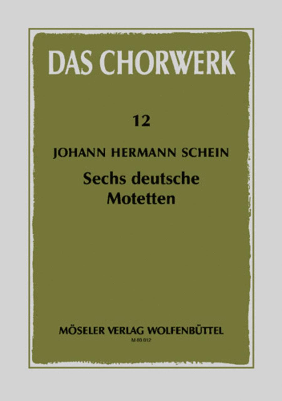 Sechs deutsche Motetten