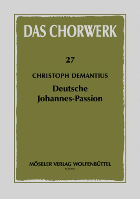 Johannes-Passion und Weissagung Esajae