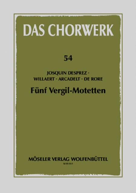 Funf Vergil-Motetten
