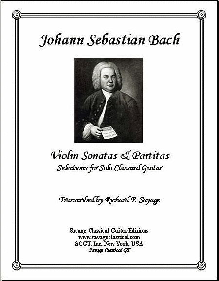 Selections from Bach's Violin Sonatas & Partitas