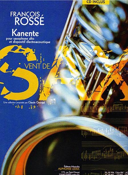 Kanente - Saxophone Mib Avec CD