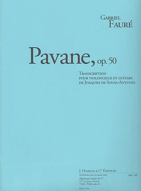 Pavane Op50 - Violoncelle Et Guitare