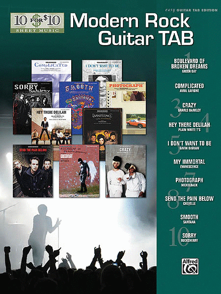 Modern Rock Guitar Tab