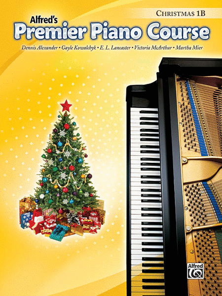 Premier Piano Course Christmas, Book 1B