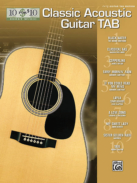 Classic Acoustic Guitar Tab