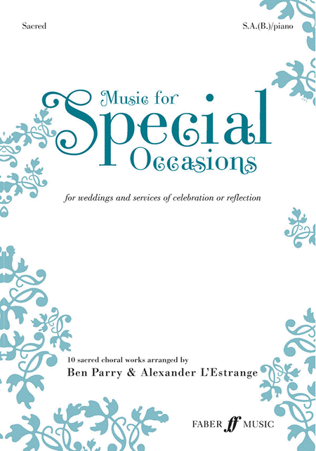 Music for Special Occasions - Sacred (SAB)