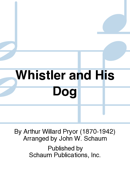 Whistler and His Dog