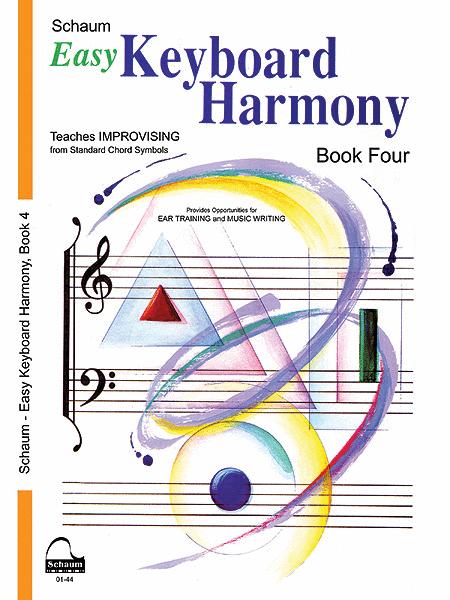 Easy Keyboard Harmony, Book 4