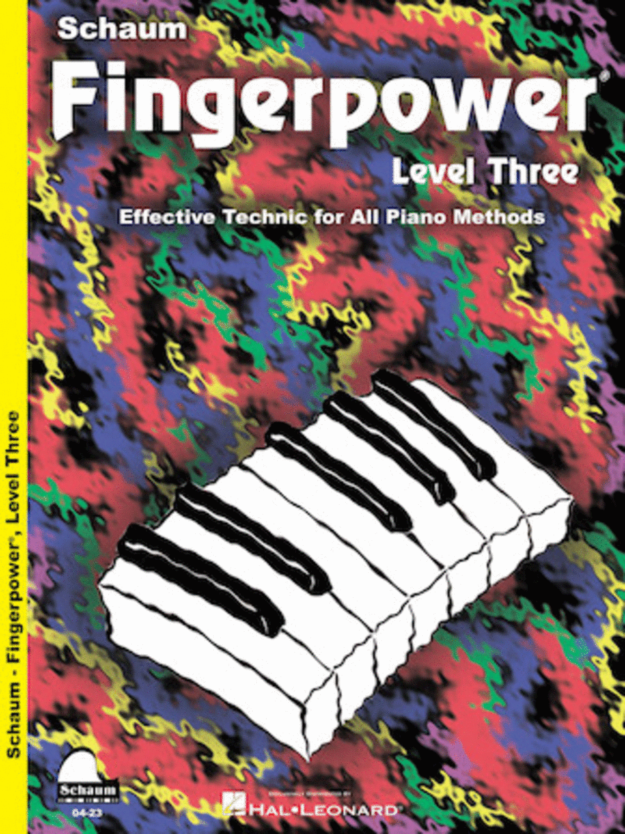 Schaum Fingerpower, Level Three (Book)