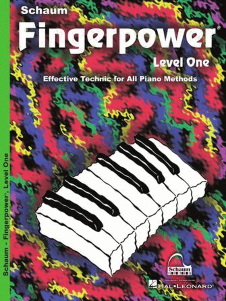 Schaum Fingerpower, Level One (Book)