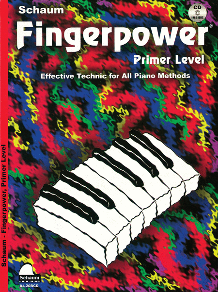 Schaum Fingerpower, Primer Level (Book and CD)