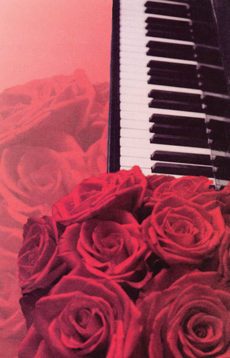 Schaum Recital Programs (Blank) #55: Roses and Keyboard
