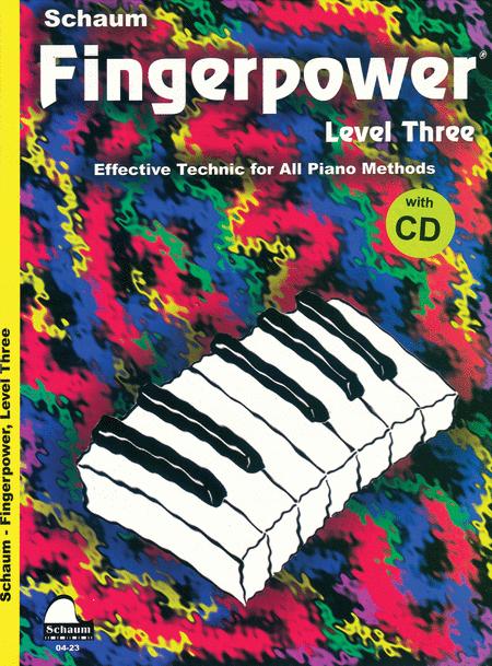 Schaum Fingerpower, Level Three (Book and CD)