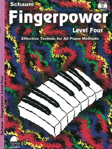 Schaum Fingerpower, Level Four (Book and CD)