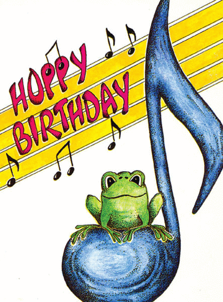 Greeting Cards: Frog and 8th Notes (Pack of 12)