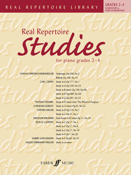 Real Repertoire Studies for Piano