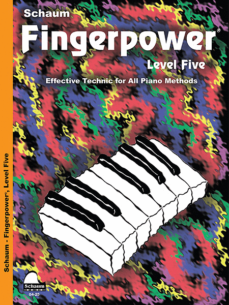 Schaum Fingerpower, Level Five (Book)