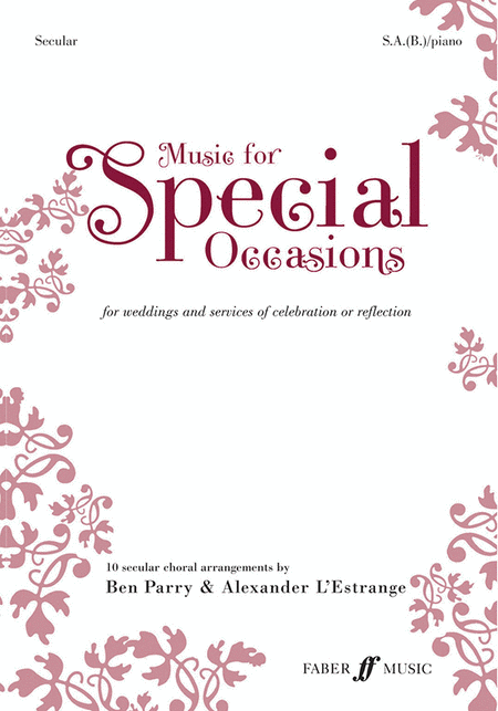 Music for Special Occasions - Secular (SAB)