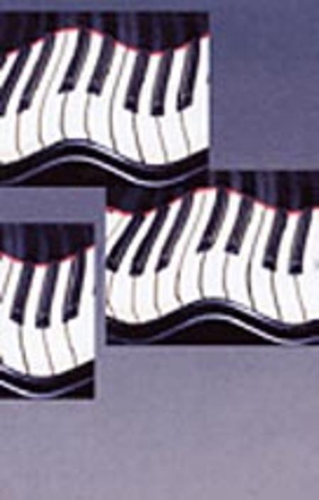 Schaum Recital Programs (Blank) #52: Wavy Keyboard