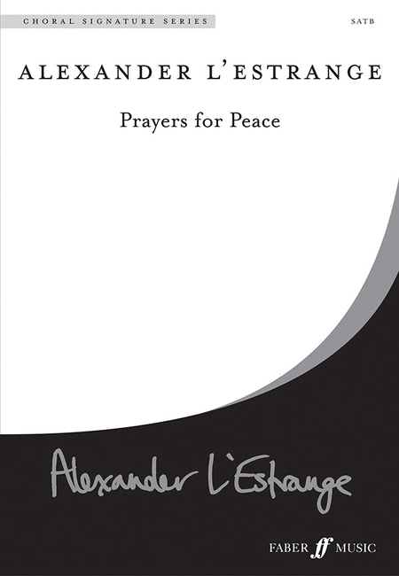 Prayers for Peace (SATB)