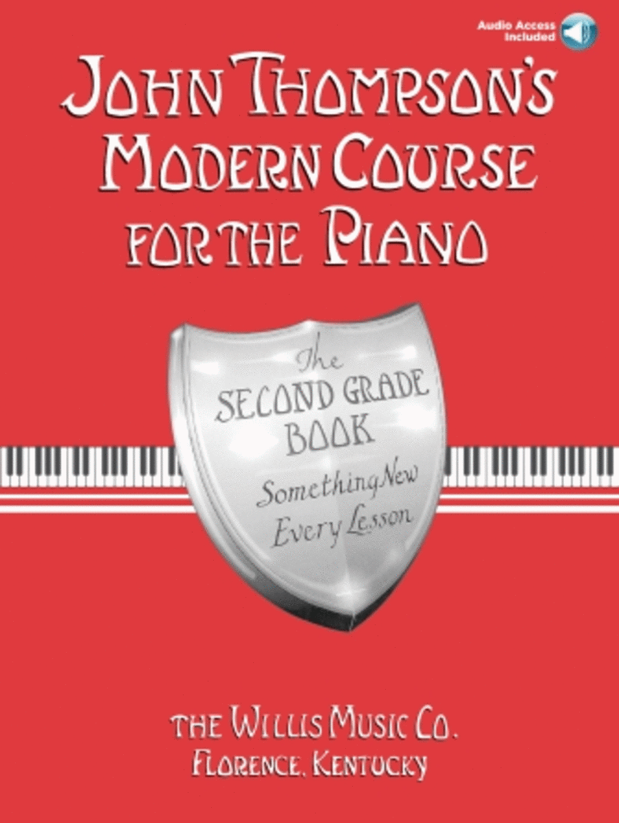 John Thompson's Modern Course for the Piano - Second Grade (Book/Audio)