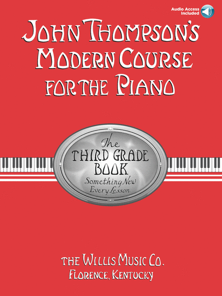 John Thompson's Modern Course for the Piano - Third Grade (Book/CD Pack)