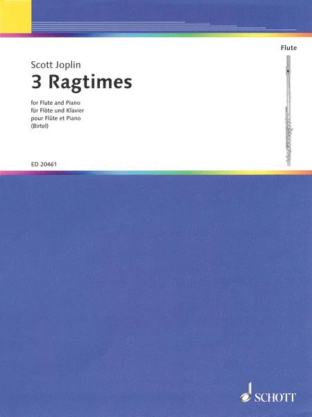 Scott Jopin - 3 Ragtimes
