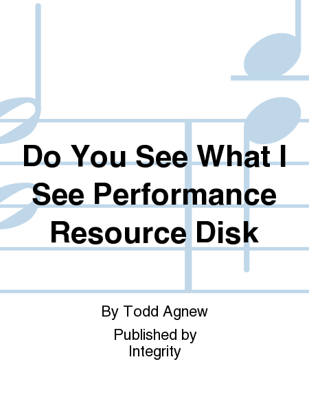 Do You See What I See Performance Resource Disk