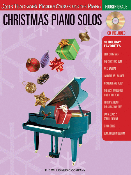Christmas Piano Solos - Fourth Grade (Book/CD Pack)