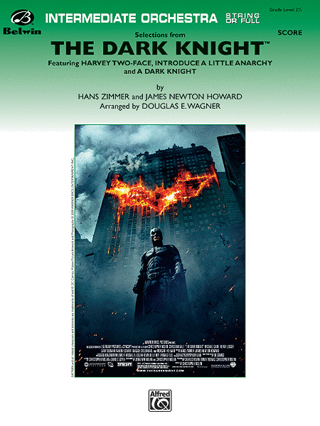 The Dark Knight, Selections from (score only)