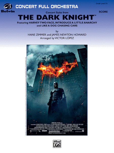 Concert Suite from The Dark Knight (Score only)