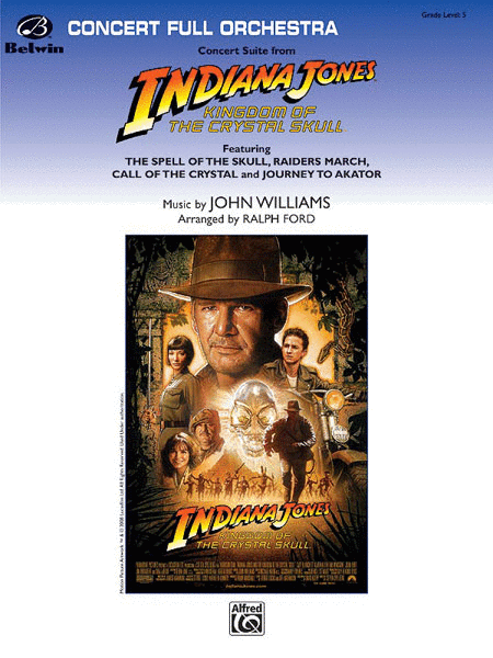 Indiana Jones and the Kingdom of the Crystal Skull, Concert Suite from