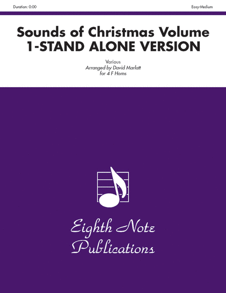 The Sounds of Christmas (stand alone version), Volume 1