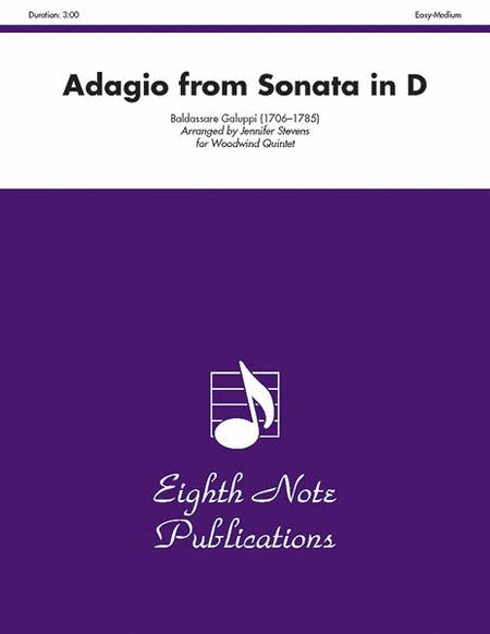 Adagio (from Sonata in D)