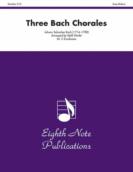 Three Bach Chorales