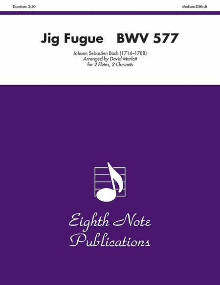 Jig Fugue, BWV 577