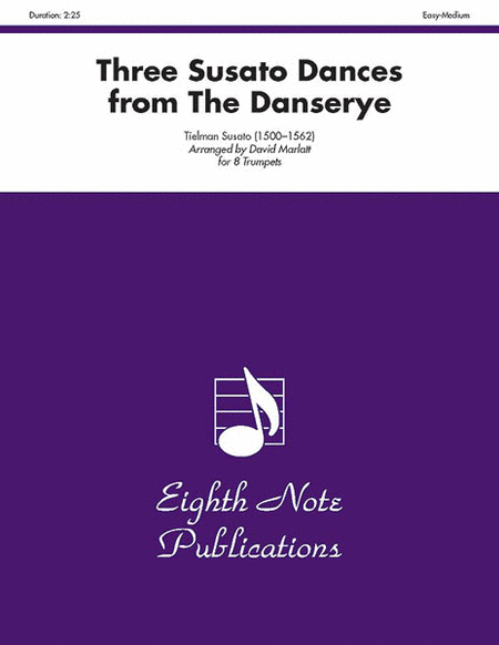 Three Susato Dances (from The Danserye)