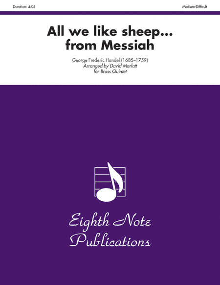 All We Like Sheep (from Messiah)